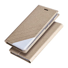 Housse Portefeuille Livre Cuir pour Huawei Honor 8 Pro Or
