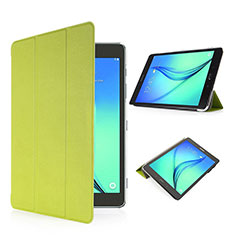 Housse Portefeuille Livre Cuir pour Samsung Galaxy Tab S2 8.0 SM-T710 SM-T715 Vert