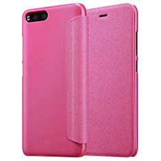 Housse Portefeuille Livre Cuir pour Xiaomi Mi 6 Rose Rouge