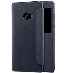 Housse Portefeuille Livre Cuir pour Xiaomi Mi Note 2 Noir