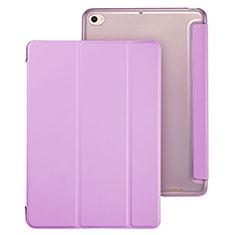 Housse Portefeuille Livre Cuir pour Xiaomi Mi Pad 3 Violet