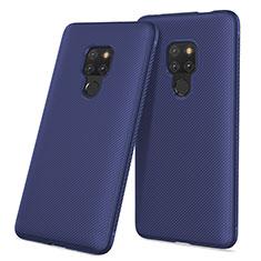 Housse Silicone Gel Serge pour Huawei Mate 20 Bleu