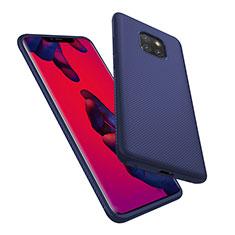 Housse Silicone Gel Serge pour Huawei Mate 20 Pro Bleu