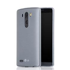 Housse Silicone Souple Mat pour LG G3 Blanc