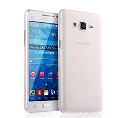 Housse Silicone Souple Mat pour Samsung Galaxy Grand Prime 4G G531F Duos TV Blanc