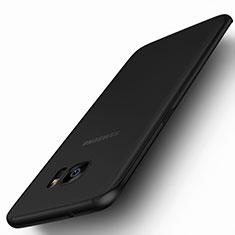 Housse Silicone Souple Mat pour Samsung Galaxy S7 Edge G935F Noir
