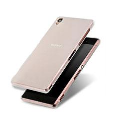 Housse Silicone Souple Mat pour Sony Xperia Z3 Blanc