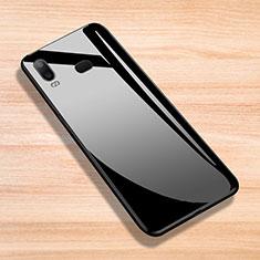 Housse Silicone Souple Miroir pour Samsung Galaxy A6s Noir