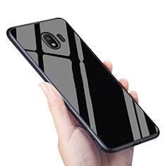 Housse Silicone Souple Miroir pour Samsung Galaxy Grand Prime Pro (2018) Noir