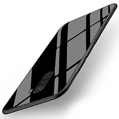 Housse Silicone Souple Miroir pour Xiaomi Pocophone F1 Noir