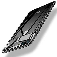 Housse Silicone Souple Miroir pour Xiaomi Redmi 6 Noir
