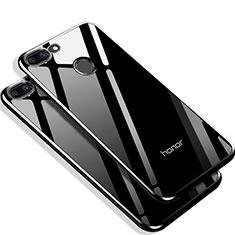 Housse Silicone Souple Miroir Q01 pour Huawei Honor 9 Lite Noir