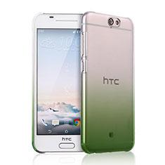 Housse Transparente Rigide Degrade pour HTC One A9 Vert