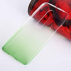 Housse Transparente Rigide Degrade pour Motorola Moto X Style Vert