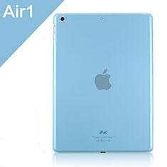 Housse Ultra Fine Mat Rigide Transparente pour Apple iPad Air Bleu Ciel