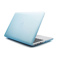 Housse Ultra Fine Mat Rigide Transparente pour Apple MacBook Air 11 pouces Bleu