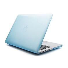 Housse Ultra Fine Mat Rigide Transparente pour Apple MacBook Pro 15 pouces Bleu