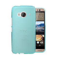 Housse Ultra Fine Mat Rigide Transparente pour HTC One Me Bleu Ciel