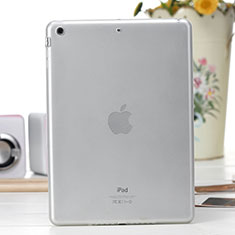 Housse Ultra Fine Silicone Souple Transparente pour Apple iPad Air Blanc