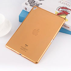 Housse Ultra Fine Silicone Souple Transparente pour Apple iPad Pro 9.7 Or