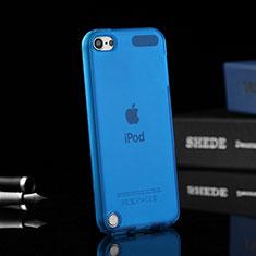 Housse Ultra Fine Silicone Souple Transparente pour Apple iPod Touch 5 Bleu