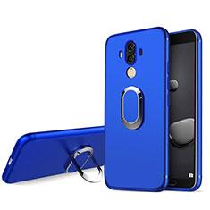 Housse Ultra Fine TPU Souple avec Support Bague Anneau pour Huawei Mate 10 Pro Bleu