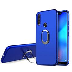 Housse Ultra Fine TPU Souple avec Support Bague Anneau pour Huawei Nova 3e Bleu