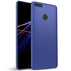 Housse Ultra Fine TPU Souple pour Huawei Honor V9 Bleu