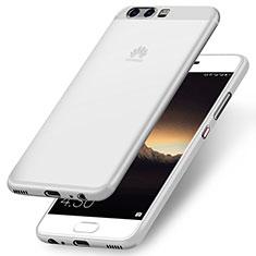 Housse Ultra Fine TPU Souple pour Huawei P10 Blanc