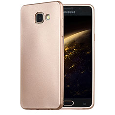 Housse Ultra Fine TPU Souple pour Samsung Galaxy A5 (2016) SM-A510F Or