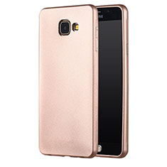 Housse Ultra Fine TPU Souple pour Samsung Galaxy A7 (2016) A7100 Or
