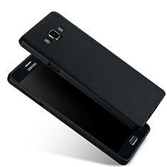 Housse Ultra Fine TPU Souple pour Samsung Galaxy A7 Duos SM-A700F A700FD Noir