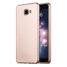 Housse Ultra Fine TPU Souple pour Samsung Galaxy A9 Pro (2016) SM-A9100 Or