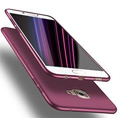 Housse Ultra Fine TPU Souple S03 pour Samsung Galaxy C7 Pro C7010 Violet