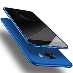 Housse Ultra Fine TPU Souple S03 pour Samsung Galaxy C9 Pro C9000 Bleu
