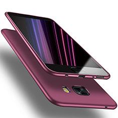 Housse Ultra Fine TPU Souple S03 pour Samsung Galaxy C9 Pro C9000 Violet