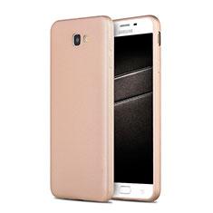Housse Ultra Fine TPU Souple S03 pour Samsung Galaxy J7 Prime Or