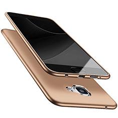 Housse Ultra Fine TPU Souple S05 pour Samsung Galaxy A9 Pro (2016) SM-A9100 Or