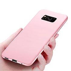 Housse Ultra Fine TPU Souple S06 pour Samsung Galaxy S8 Rose