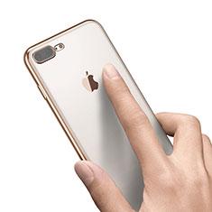 Housse Ultra Fine TPU Souple Transparente A21 pour Apple iPhone 7 Plus Or