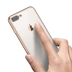 Housse Ultra Fine TPU Souple Transparente A21 pour Apple iPhone 8 Plus Or
