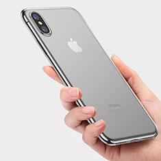 Housse Ultra Fine TPU Souple Transparente C05 pour Apple iPhone Xs Clair
