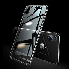 Housse Ultra Fine TPU Souple Transparente C08 pour Apple iPhone Xs Clair