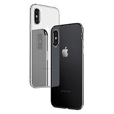 Housse Ultra Fine TPU Souple Transparente C10 pour Apple iPhone Xs Clair