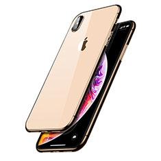 Housse Ultra Fine TPU Souple Transparente C14 pour Apple iPhone X Clair
