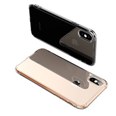 Housse Ultra Fine TPU Souple Transparente C17 pour Apple iPhone X Clair