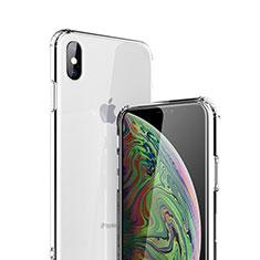 Housse Ultra Fine TPU Souple Transparente C19 pour Apple iPhone Xs Clair