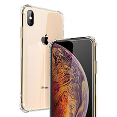 Housse Ultra Fine TPU Souple Transparente C20 pour Apple iPhone X Clair