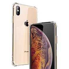 Housse Ultra Fine TPU Souple Transparente C20 pour Apple iPhone Xs Clair