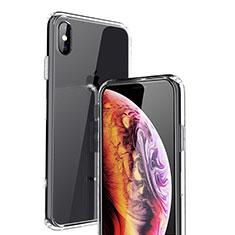 Housse Ultra Fine TPU Souple Transparente C21 pour Apple iPhone X Clair